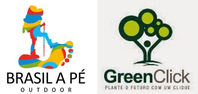 Brasil a Pé e GreenClick juntos